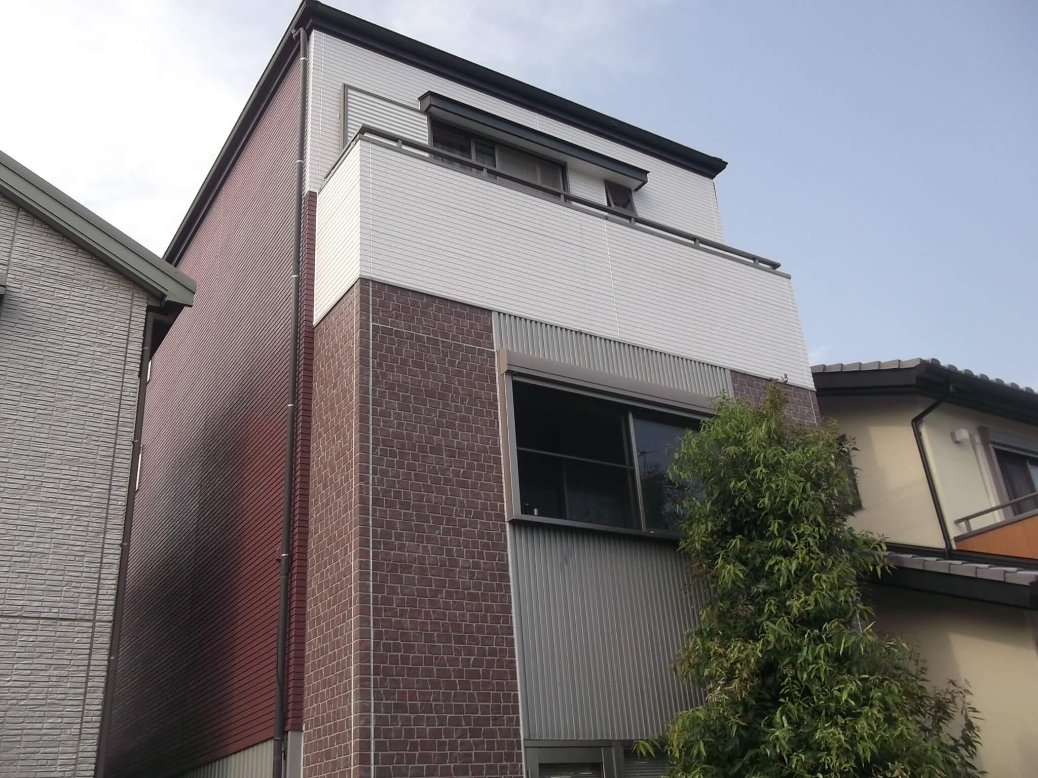 石川邸 塗装後2