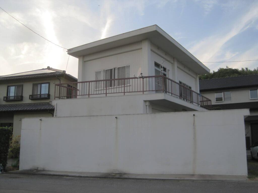 塗装前の建物